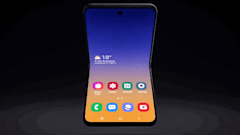 Samsung's clamshell foldable phone may be called the Galaxy Z Flip