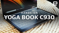 Lenovo's new Yoga Book replaces the keyboard with an e-ink screen