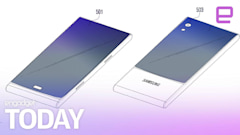 Samsung imagines a wraparound smartphone display
