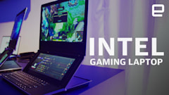 Intel's gaming laptop prototype is a dual-screen PC with a point