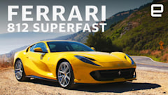 The Ferrari 812 Superfast is exactly what it sounds like