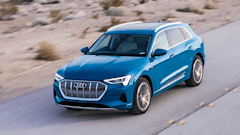The Audi E-Tron successfully merges luxury and electrification