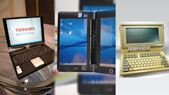 A look back at some of Toshiba's most memorable laptops