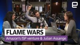 Amazon's ISP venture and Julian Assange