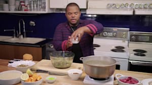 Roger Mooking's Childhood In One Word? Pelau