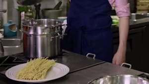 Michael Bonacini's Tagliolini aglio e olio With Parmigiano Reggiano Is One Delicious Mouthful