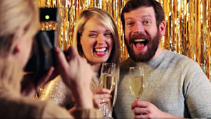 Make the Perfect New Year's Party Photo Booth