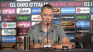 Froome says he's innocent of doping accusations as he prepares for Giro d'Italia