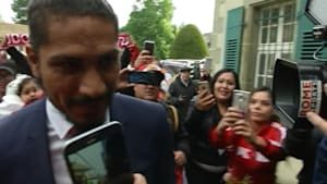 Peru captain Guerrero arrives at CAS for appeal against doping ban