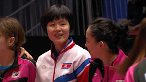 North, South Korea announce joint side at team table tennis world championships
