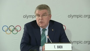 Bach says boxing at serious risk of being excluded from Tokyo Olympics