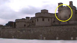 Is a Ghost Floating Over the Tower of London?