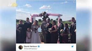 'Stranger Things' Star Officiates a Fan's Wedding