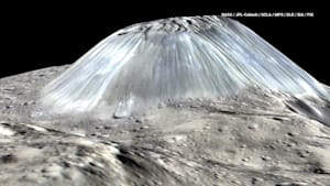 Ceres is Covered in Volcanoes That Ooze Ice