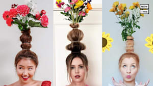 Flower Vase Hair Trend is Taking Over Instagram