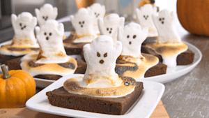 Happy Halloween: Ghost Brownies