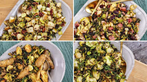 Roasted Brussles Sprouts 4 Ways By Sunny Anderson