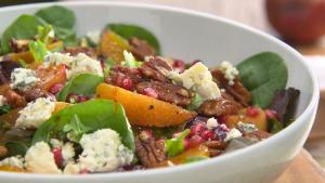 Winter Beet And Pomegranate Salad