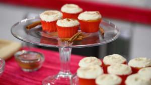 Make Tasty Eggnog Cupcakes