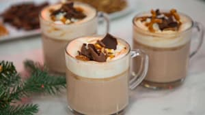 Holiday hot drinks: cider glogg and maple nog