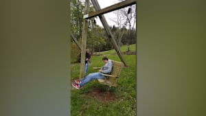 Bench Swing Trick Fail