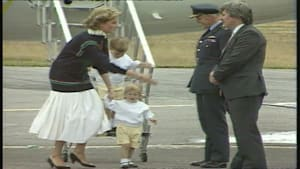 Royal Baby Countdown: Prince Harry masters the plane steps