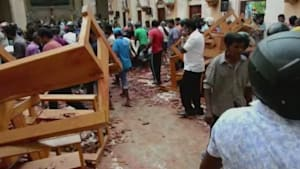Sri Lanka terror attacks leave more than 100 people dead