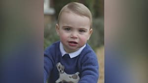 Prince Louis celebrates his first birthday