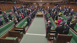 MPs observe minute's silence for Sri Lanka victims