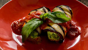 BBQ Favorites: Grilled eggplant cannelloni