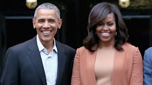 Barack and Michelle Obama team with Spotify for podcasts