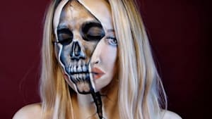 Skull special effects makeup