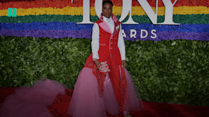 Billy Porter dresses to impress at Tony Awards
