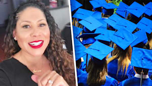 This woman raised money to clear student's debts