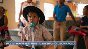 Nonverbal boy with autism sings 'Old Town Road'