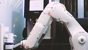 Coffee shop uses robots to take your order and serve gourmet coffee