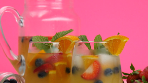 This fizzy pineapple punch will be your go-to Summer drink
