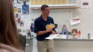 Students pool money to surprise teacher with 'Hamilton' tickets