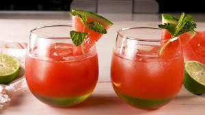 Vodka watermelon coolers