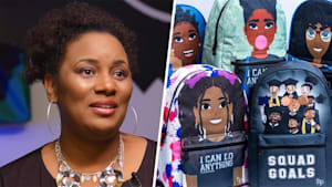 Meet the mom empowering kids with her line of backpacks