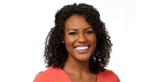ABC News' Janai Norman chose to embrace her curls