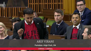 Toronto MP Leads 'Let's Go Raptors' Chant After NBA Championship Win