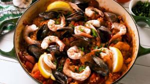 Easy & delicious paella