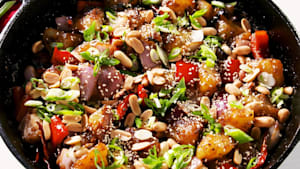 Kung Pao potatoes are a spice lover's veggie dream