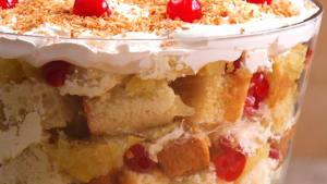 If you like piña coladas, you'll love piña colada trifle