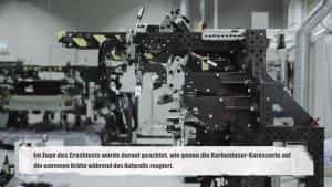 Sichere und feste Karbonfaser-Karosserie- Polestar meistert erfolgreich ersten Crashtest
