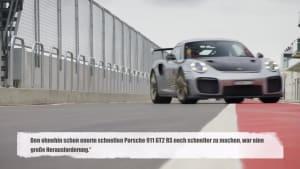 Porsche 911 GT2 RS MR ist schnellster straßenzugelassener Sportwagen am Ring