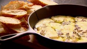Baked fontina appetizer recipe