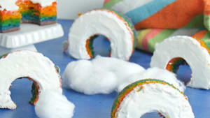 Taste the rainbow with this box cake mix hack