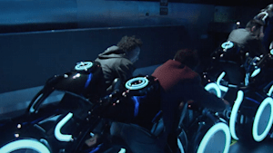 Ride Disneyland's Shanghai Tron coaster